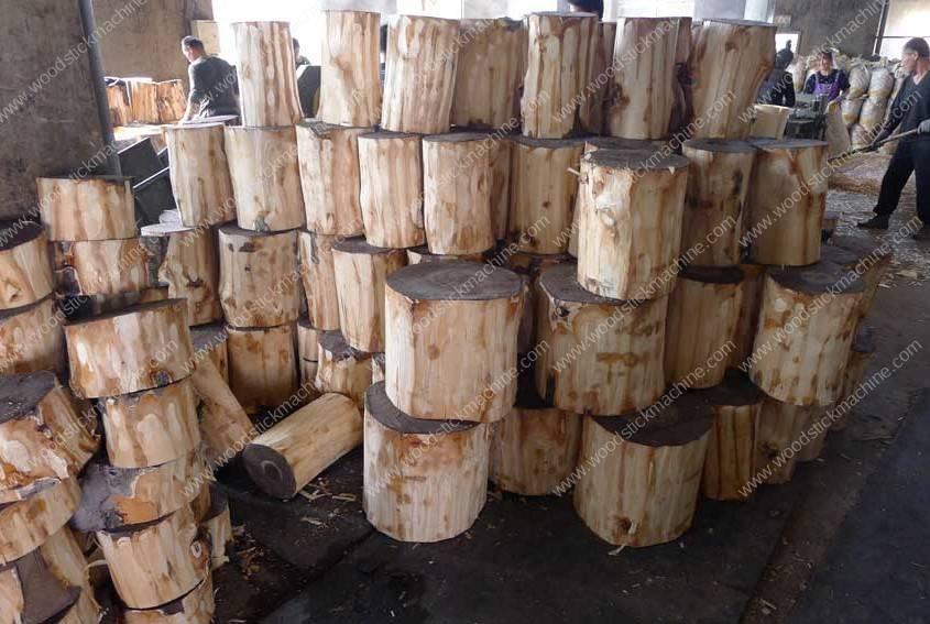 Short-Cut-Wood-Log-for-Rotary-Cutting-Machine-