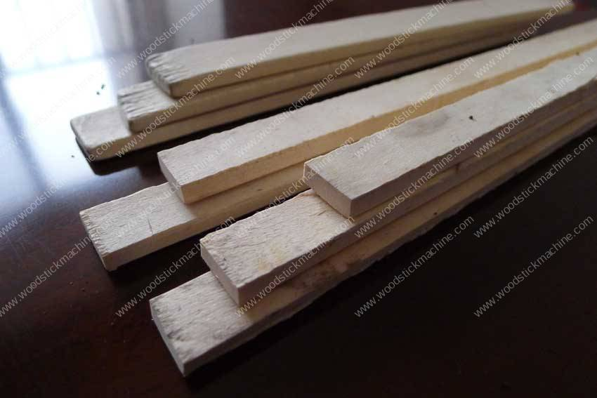 Wood Batten Cutting Machine | Tongue Depressor Making