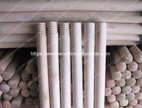 Wood-Round-Stick-Handle-Head-Threading-Machine-Manufacture