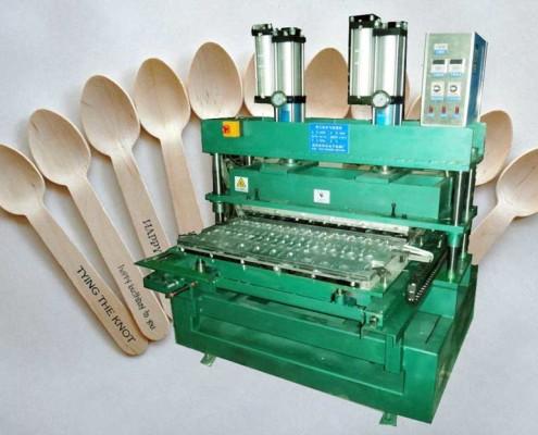 Wood Cutlery Making Machine | Tongue Depressor Making